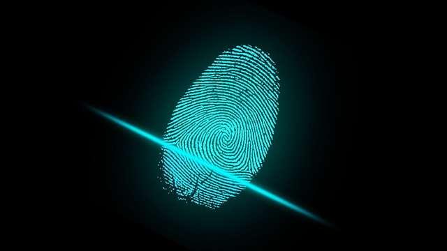Artificial intelligence - Fingerabdruck