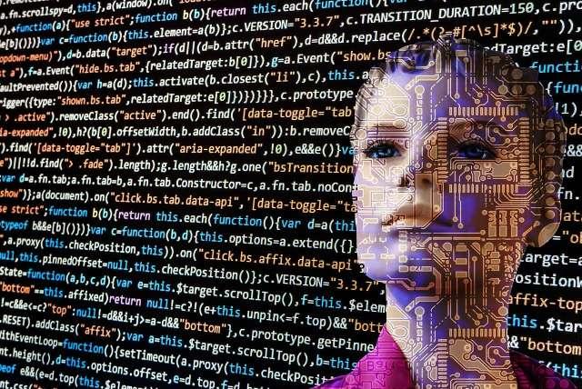 Künstliche Intelligenz - Kopf
